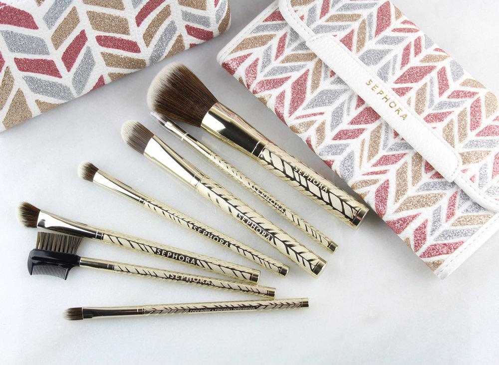 SEPHORA COLLECTION Sparkle & Shine Brush Sets