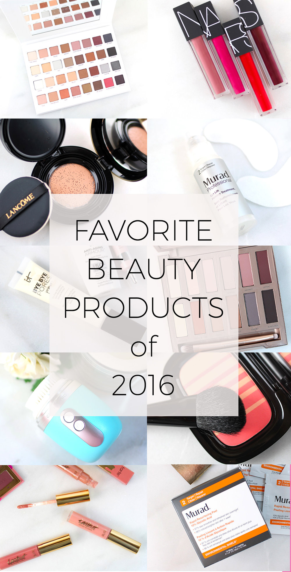 10 Favorite Beauty Products from 2016
