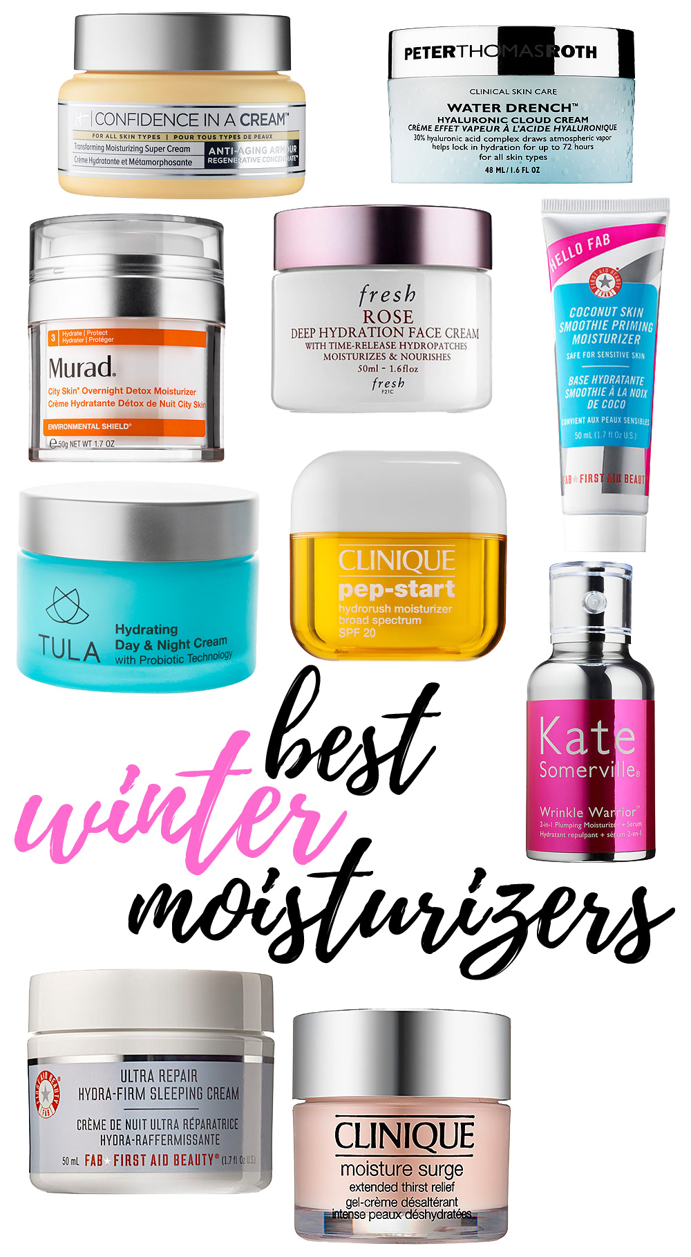 Top 10 Winter Moisturizers