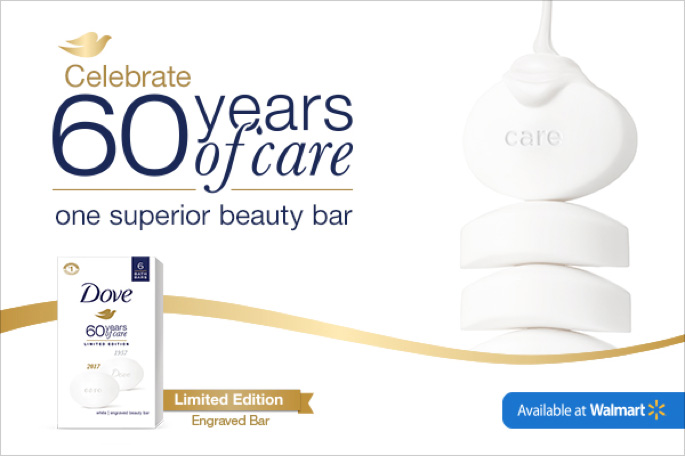 Help Dove Celebrate 60 Years of Care