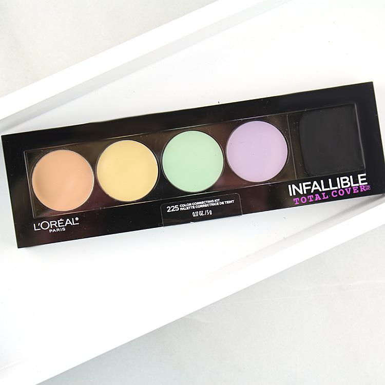 L'Oréal Paris Infallible Total Cover Color Correcting Kit