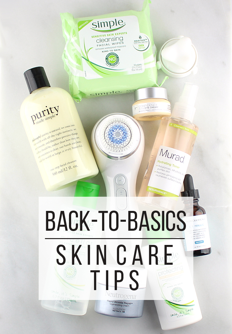 Back-to-Basics Skin Care Tips
