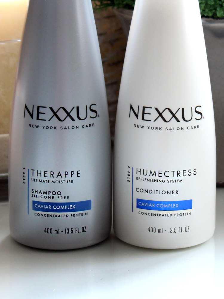 My Simple Hair Care Routine with Nexxus