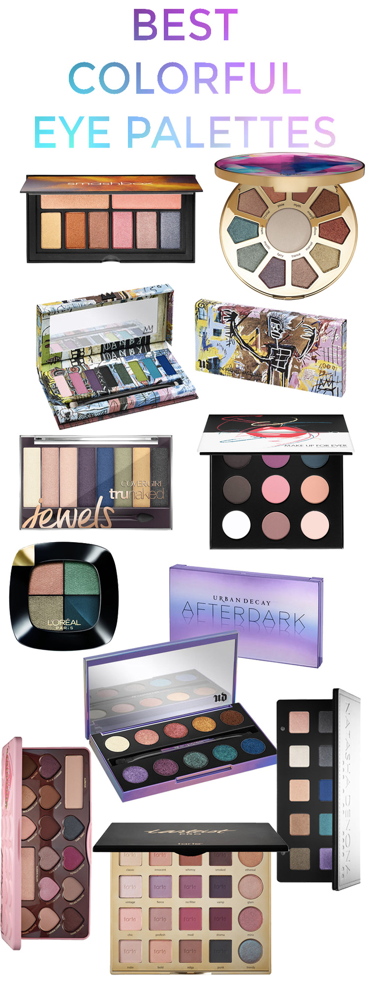 Best Colorful Eye Palettes