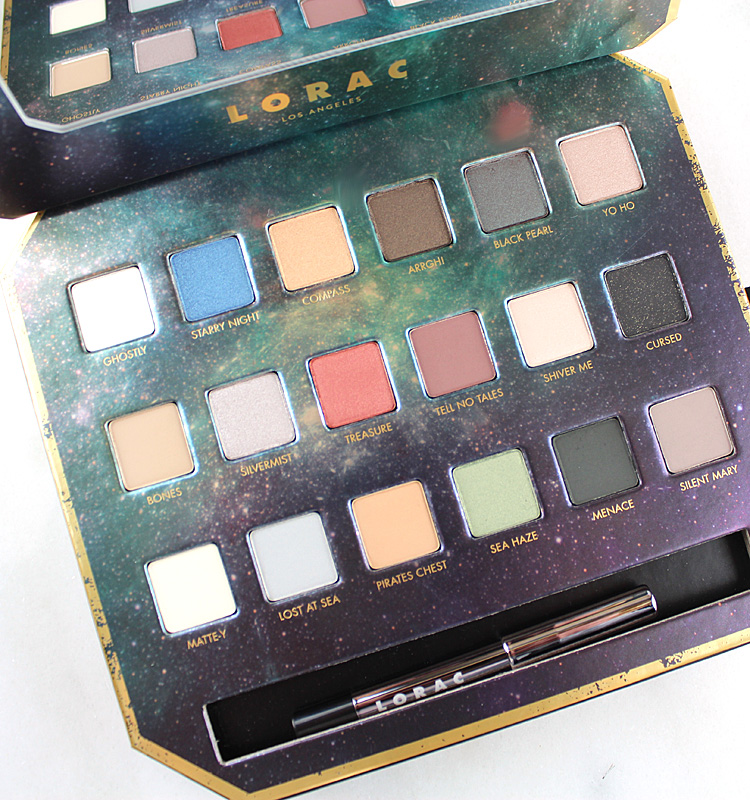 LORAC X Pirates of the Caribbean Collection