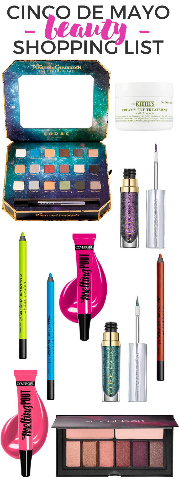 Cinco de Mayo Beauty Shopping List