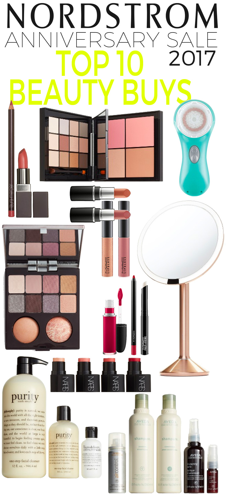 Top 10 Nordstrom Anniversary Sale Beauty Buys 2017