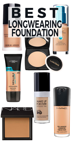 7 Longwearing Foundations