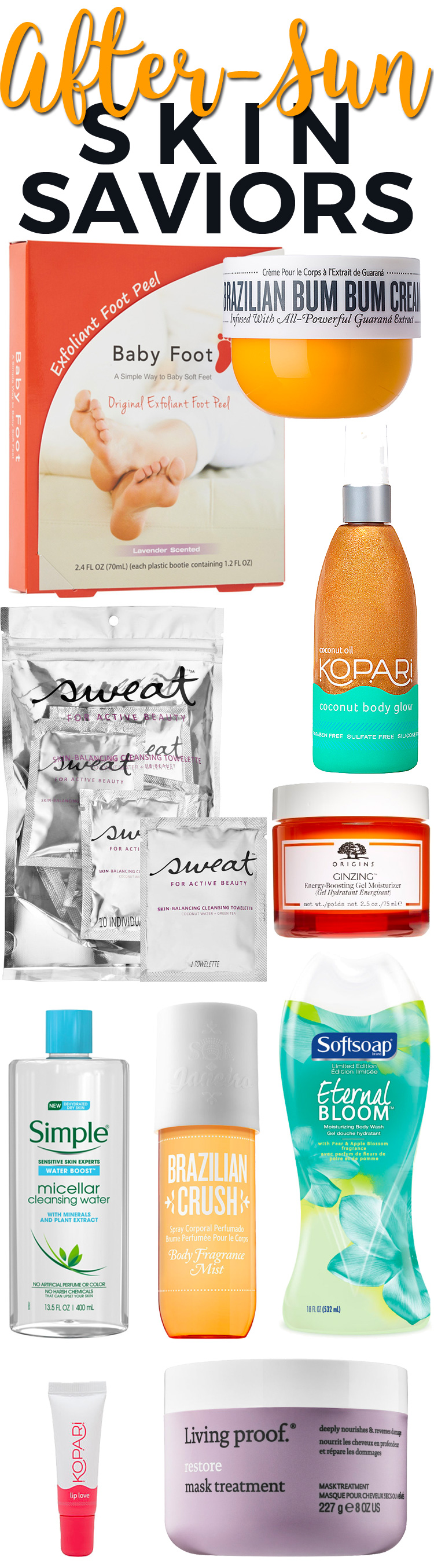 Top 10 After-Sun Skin Saviors