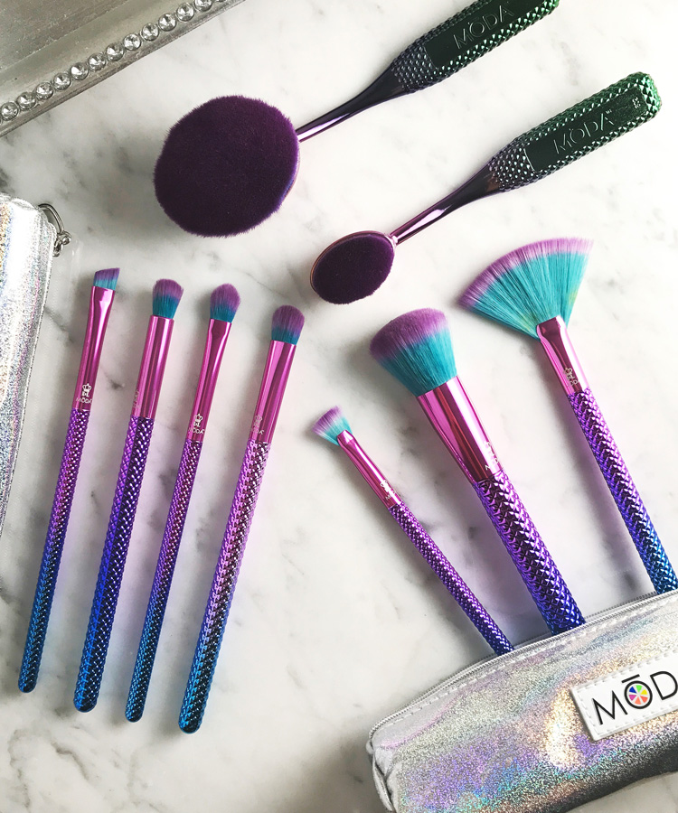 The Prettiest Makeup Brushes You'll See this Year: MODA Prismatic.