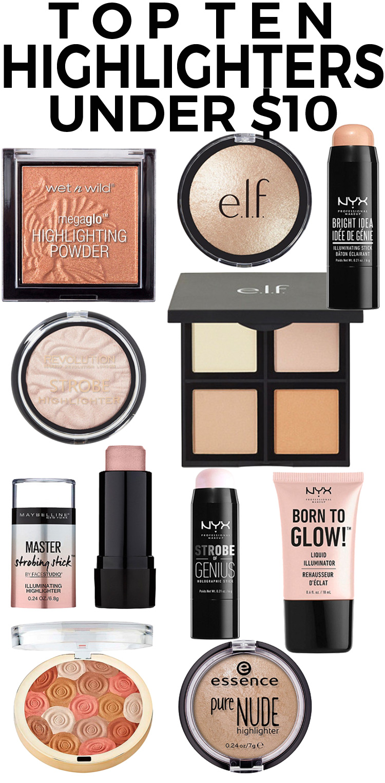 Top 10 Highlighters under $10