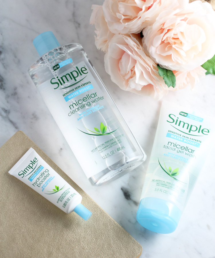 Soak in Hydration with Simple Skincare Water Boost.