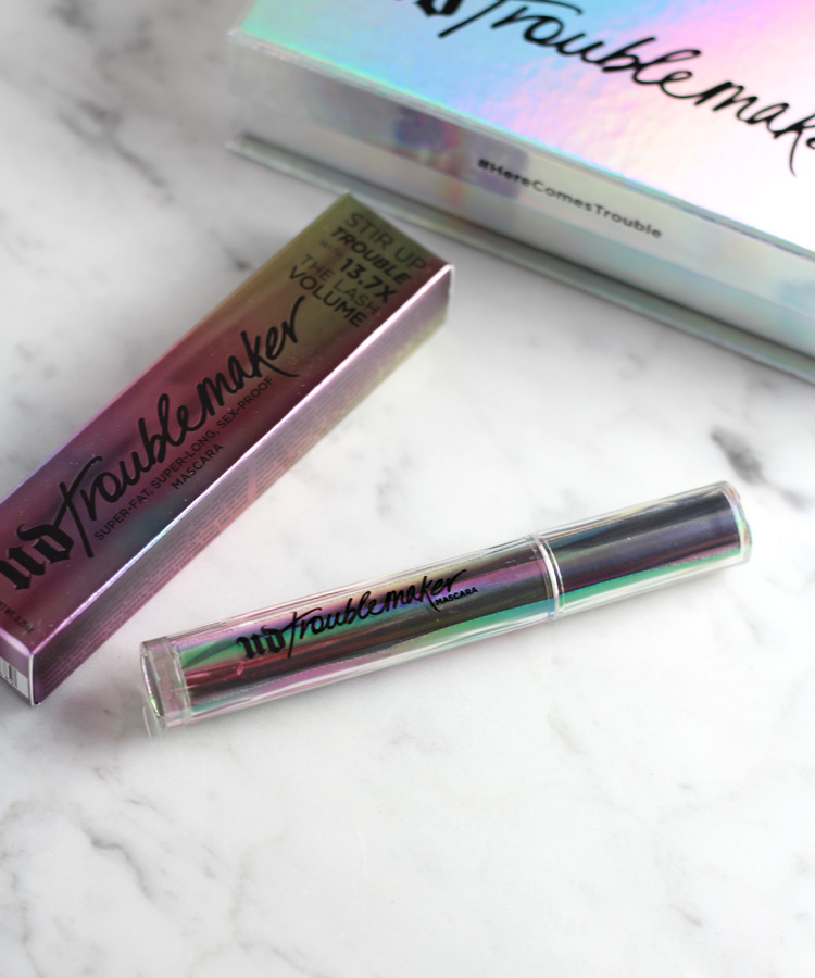 Urban Decay Troublemaker Mascara Review.