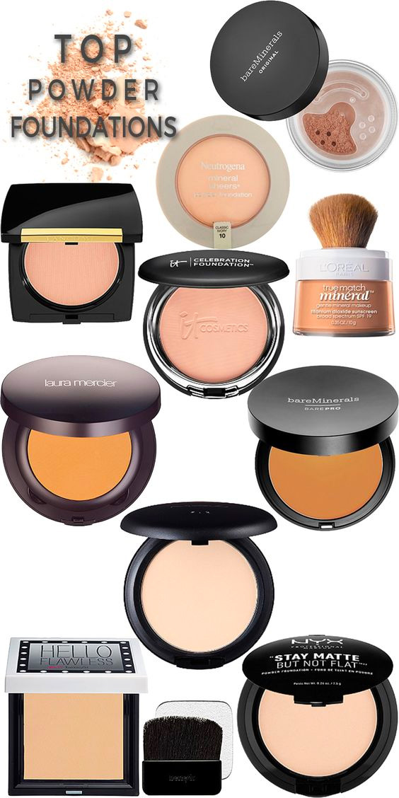 Top 10 Powder Foundations