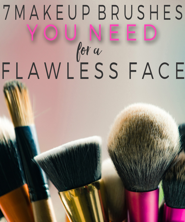 The 7 Face Brushes You Need for a Flawless Makeup Look