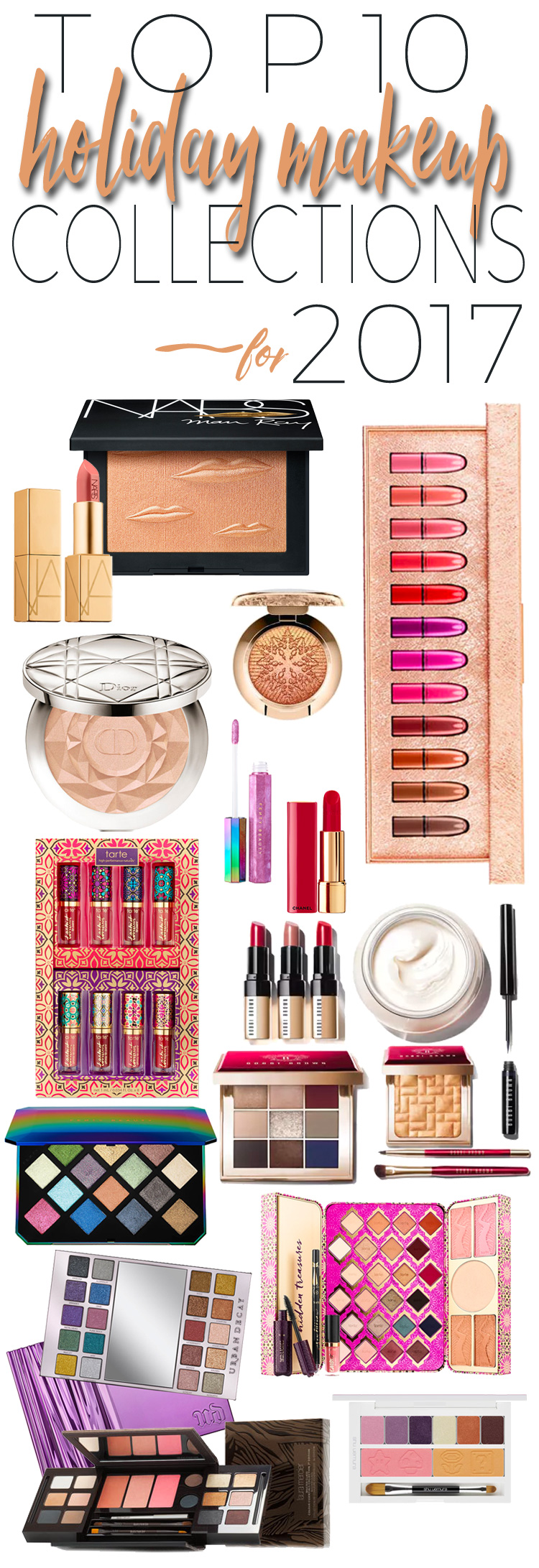 Top 10 Holiday Makeup Collections for 2017