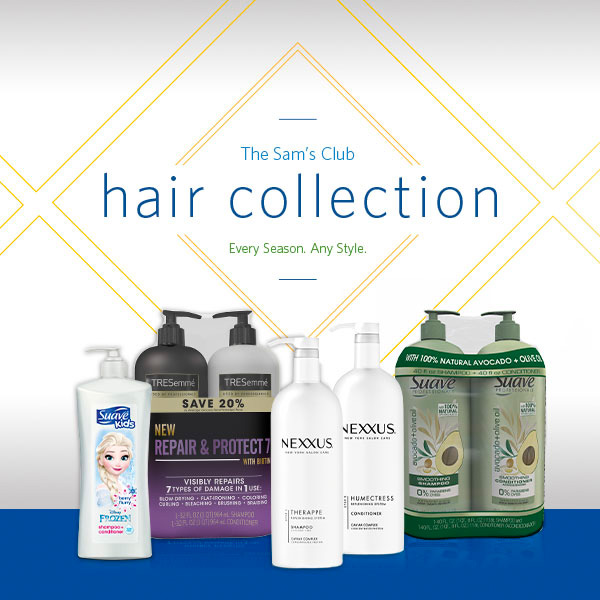 Sam's Club Hair Care Must-Haves