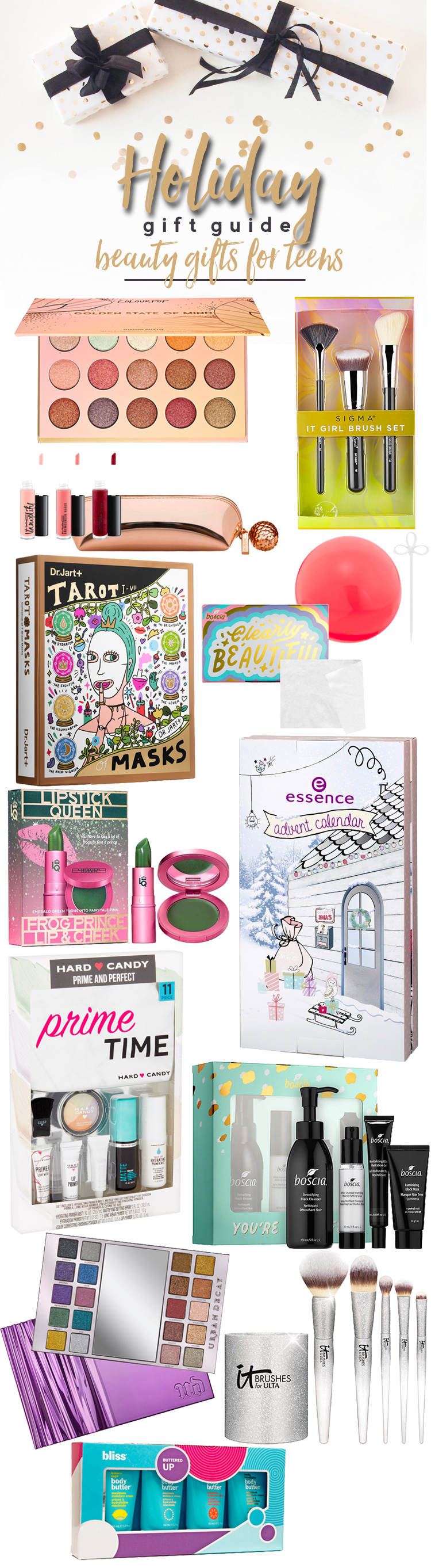 Holiday Gift Guide 2017: Best Beauty Gifts for Teens