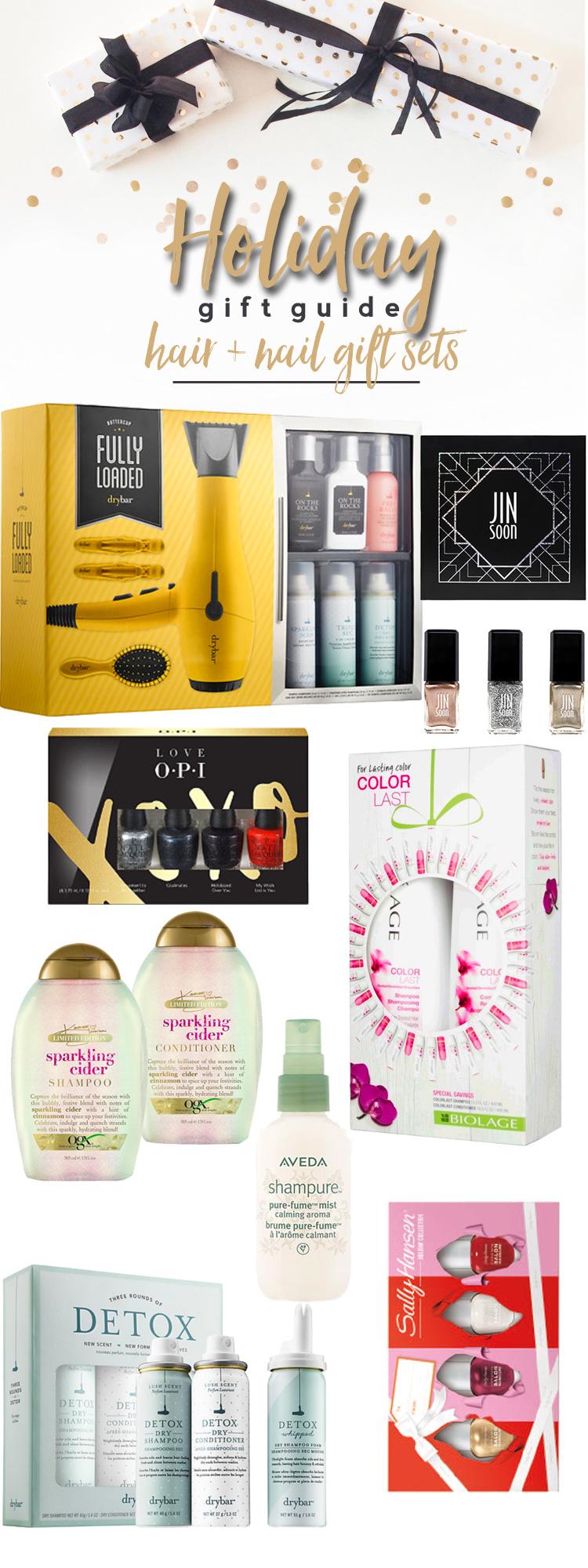Holiday Gift Guide 2017: Hair & Nail Gift Sets