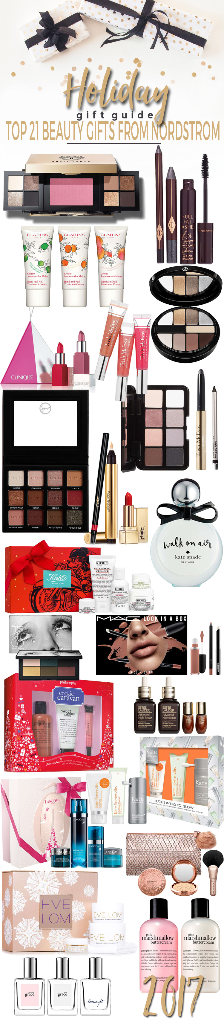 Top 21 Beauty Gifts from Nordstrom.