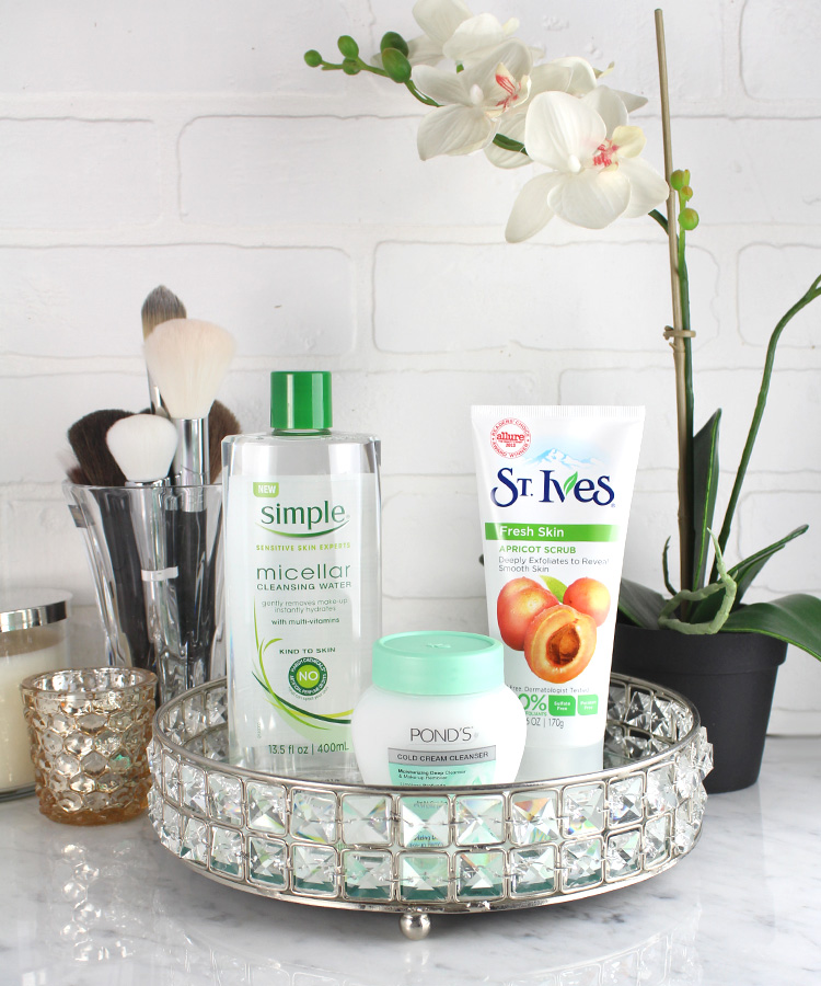 3-Step Nightly Skin Care Regimen