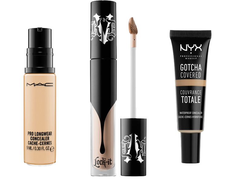 Some of the BEST full coverage concealers! Full list on the blog.