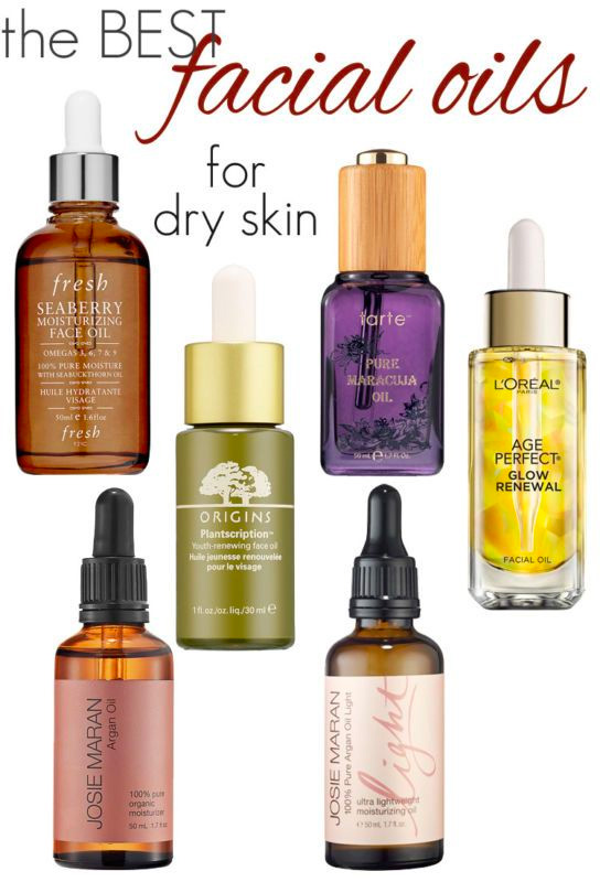 The Best Facial Oils for Dry Skin
