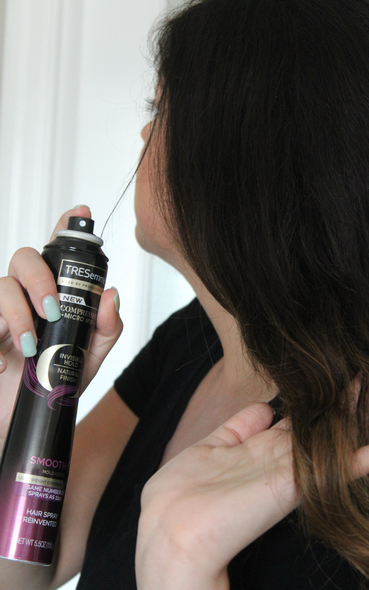 More Hair Help with TRESemmé Micro-Mist Hair Spray.