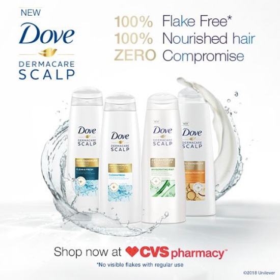 Help for My Hair & Scalp Issues with Dove DermaCare