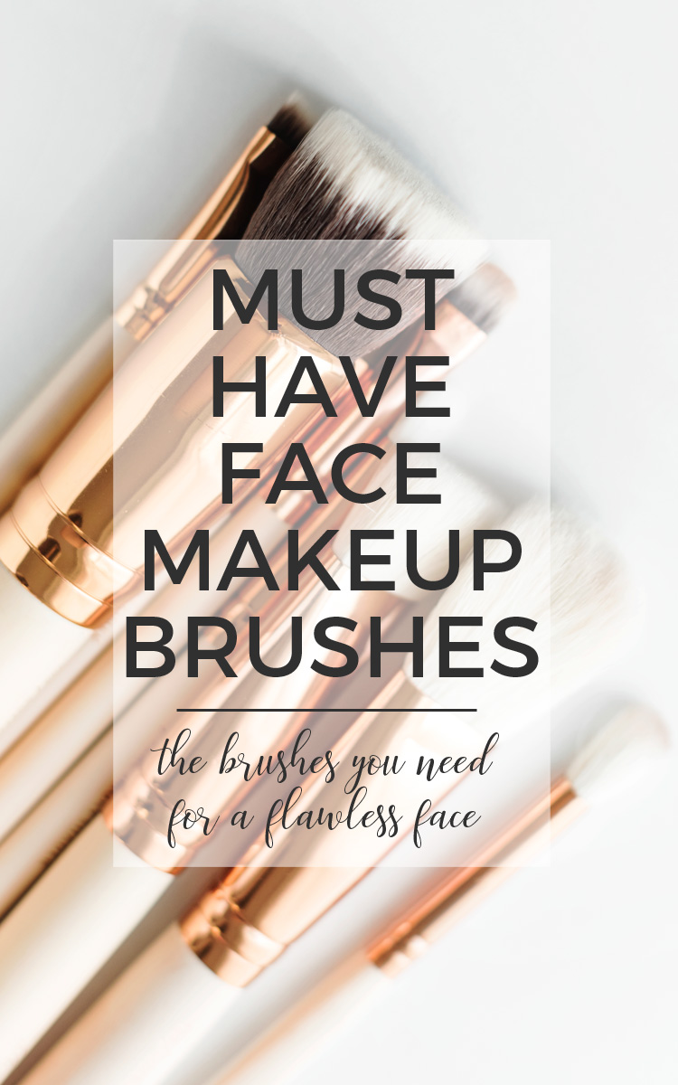 The Face Brushes You Need for a Flawless Makeup Look.