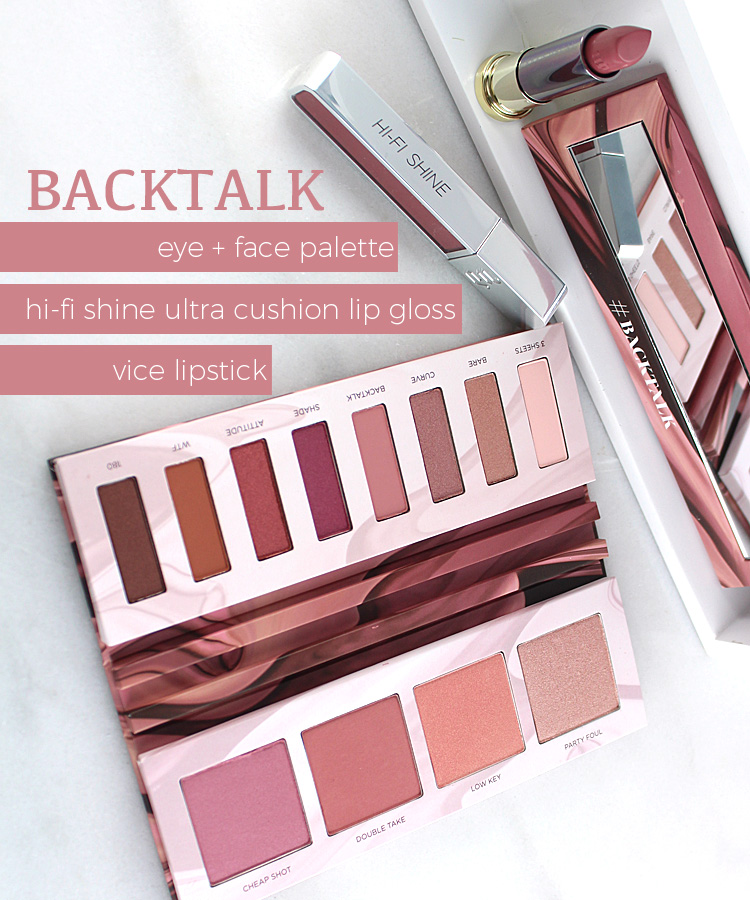 Just In: Urban Decay Backtalk Eye & Face Palette