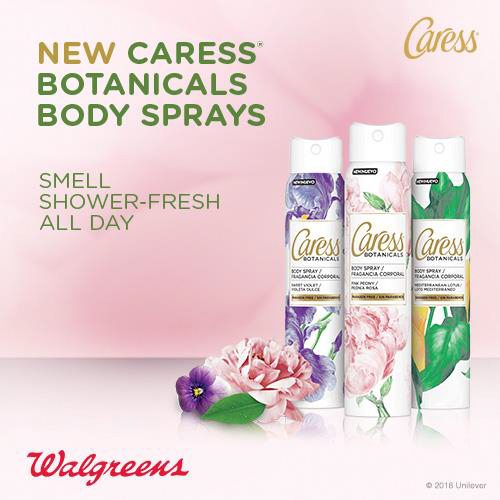 Caress Botanicals Body Sprays