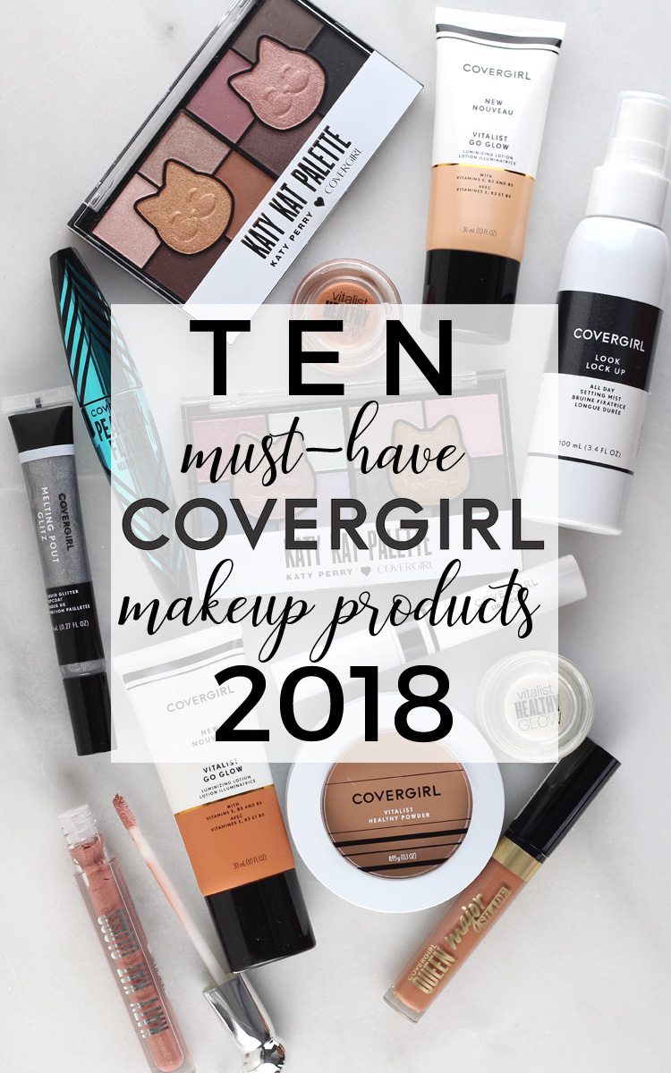 10 New Makeup Products from COVERGIRL That You Need Now!