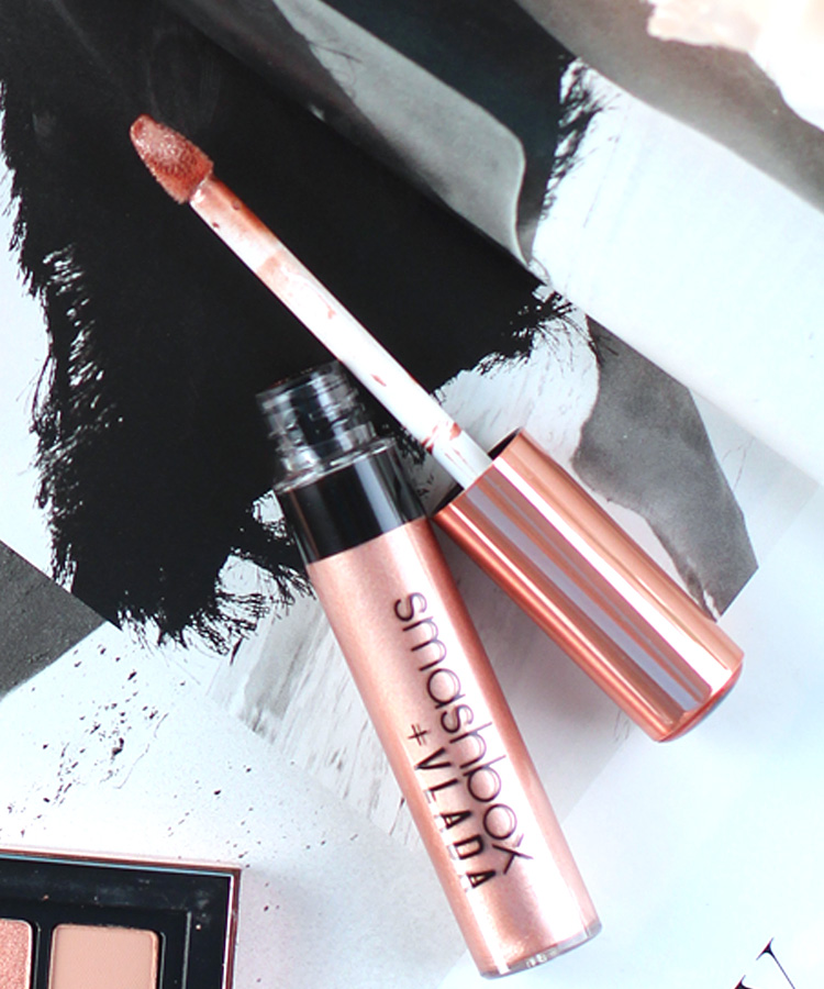 Currently Obsessed: Smashbox + Vlada Petal Metal Collection Be Legendary Liquid Lip Petal Metal