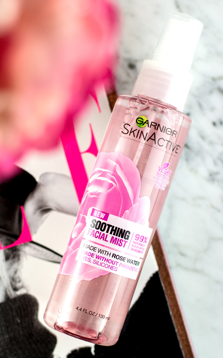 5 Ways to Use Garnier's Soothing Rose Water Mist