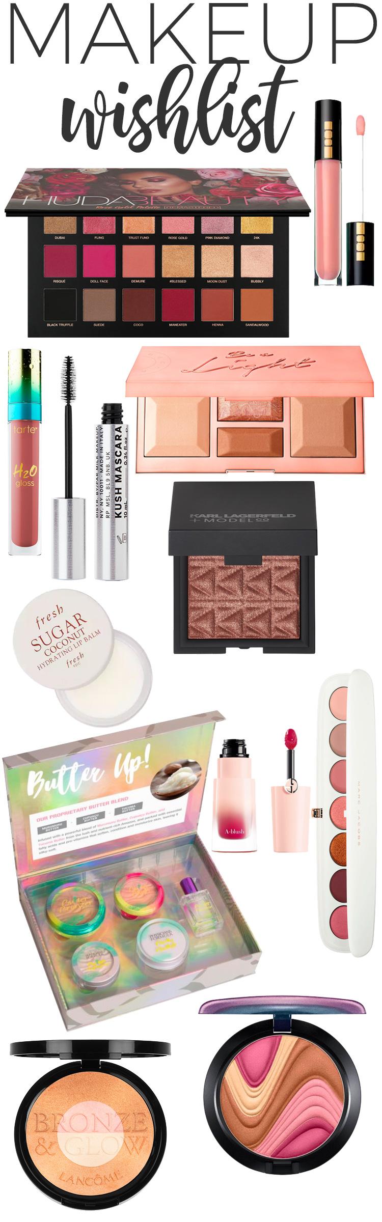 June Makeup Wishlist