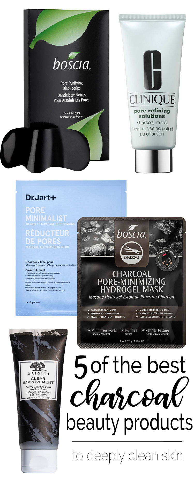 5 Best Charcoal Beauty Products