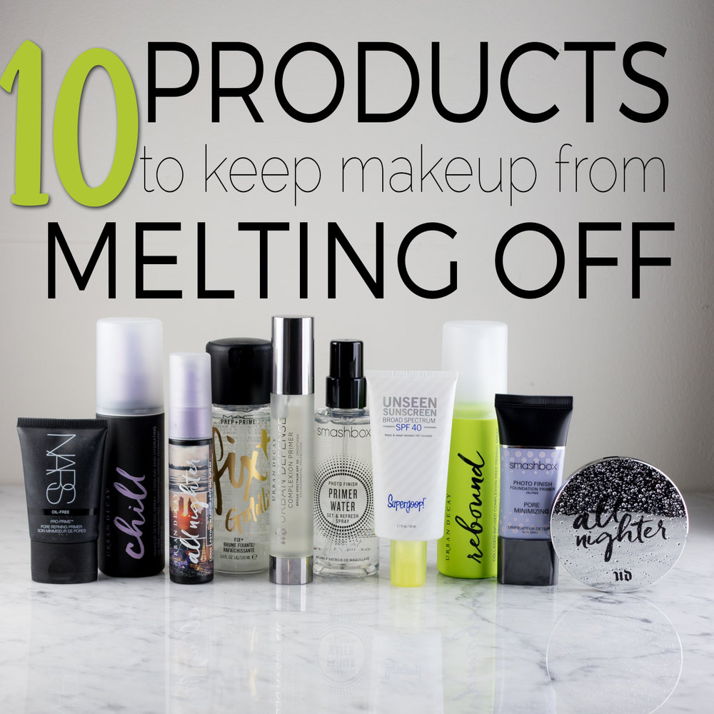 10 Products to Keep Your Makeup from Melting Off