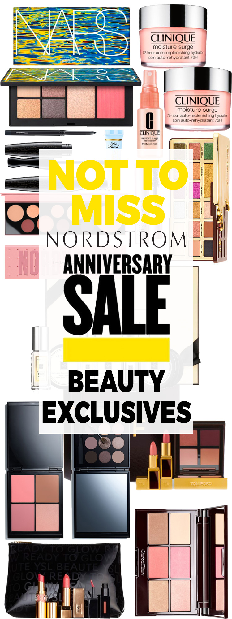 Sneak Peek: Not to Miss Nordstrom Anniversary Beauty Exclusives 2018