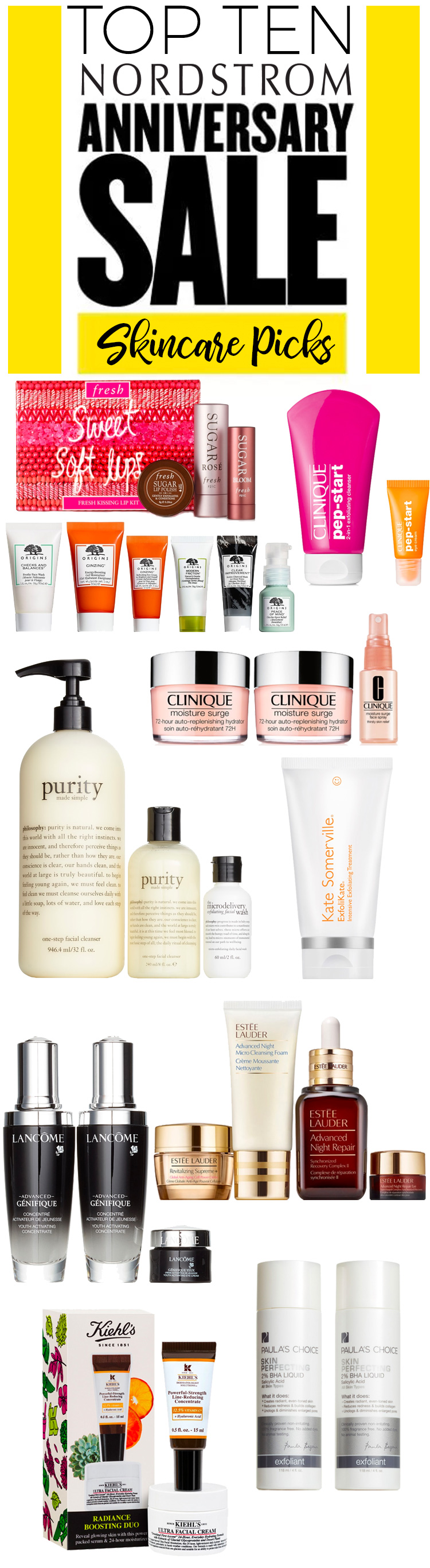 Nordstrom Anniversary Sale 2018: Top 10 Skincare Picks