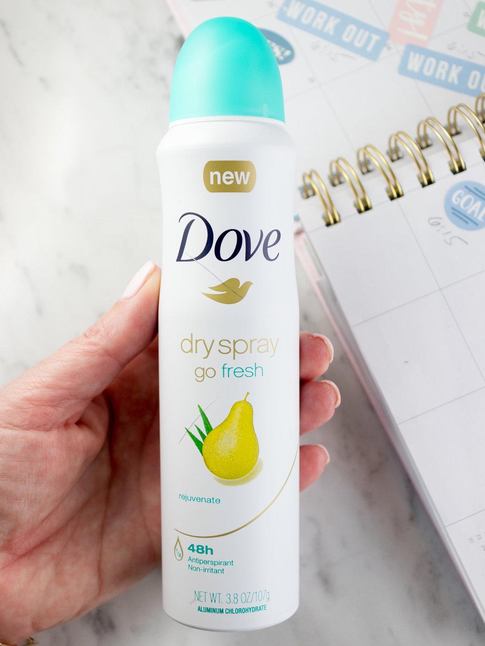 Dove Go Fresh Pear & Aloe Vera Antiperspirant