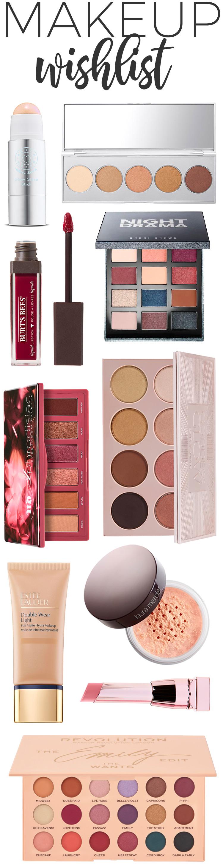 Makeup Wishlist for Fall