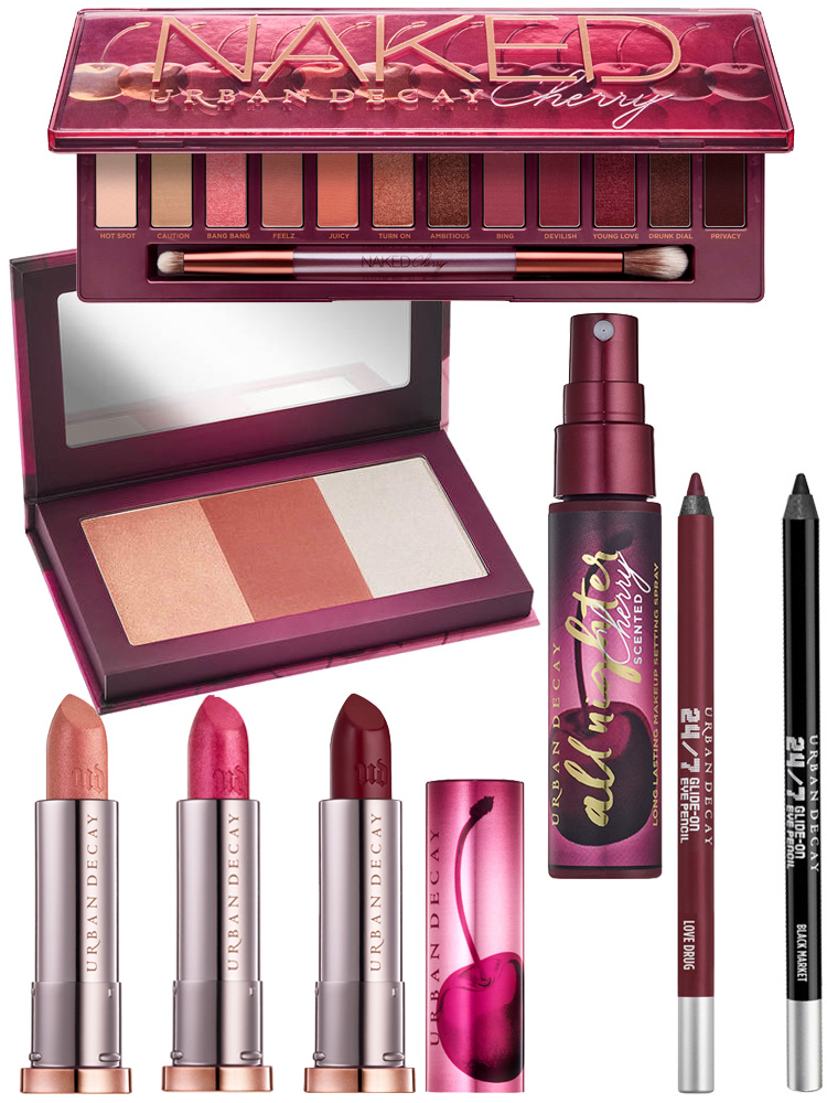Urban Decay NAKED Cherry Collection is here