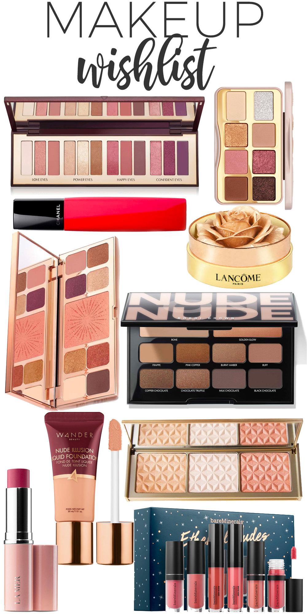 October Makeup Wishlist