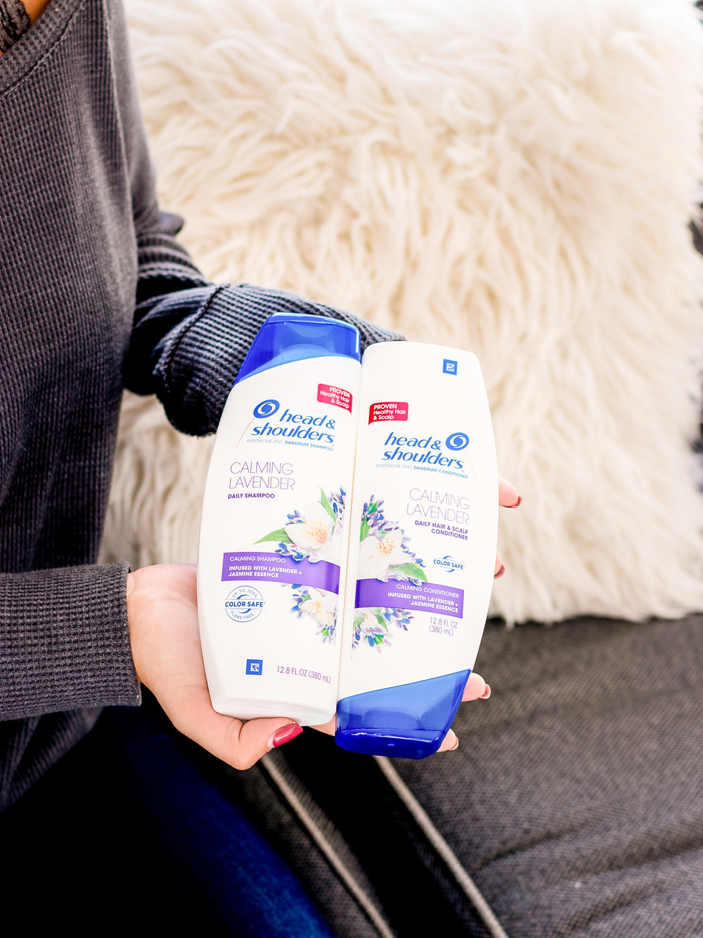 Head & Shoulders Calming Lavender Shampoo and Conditioner