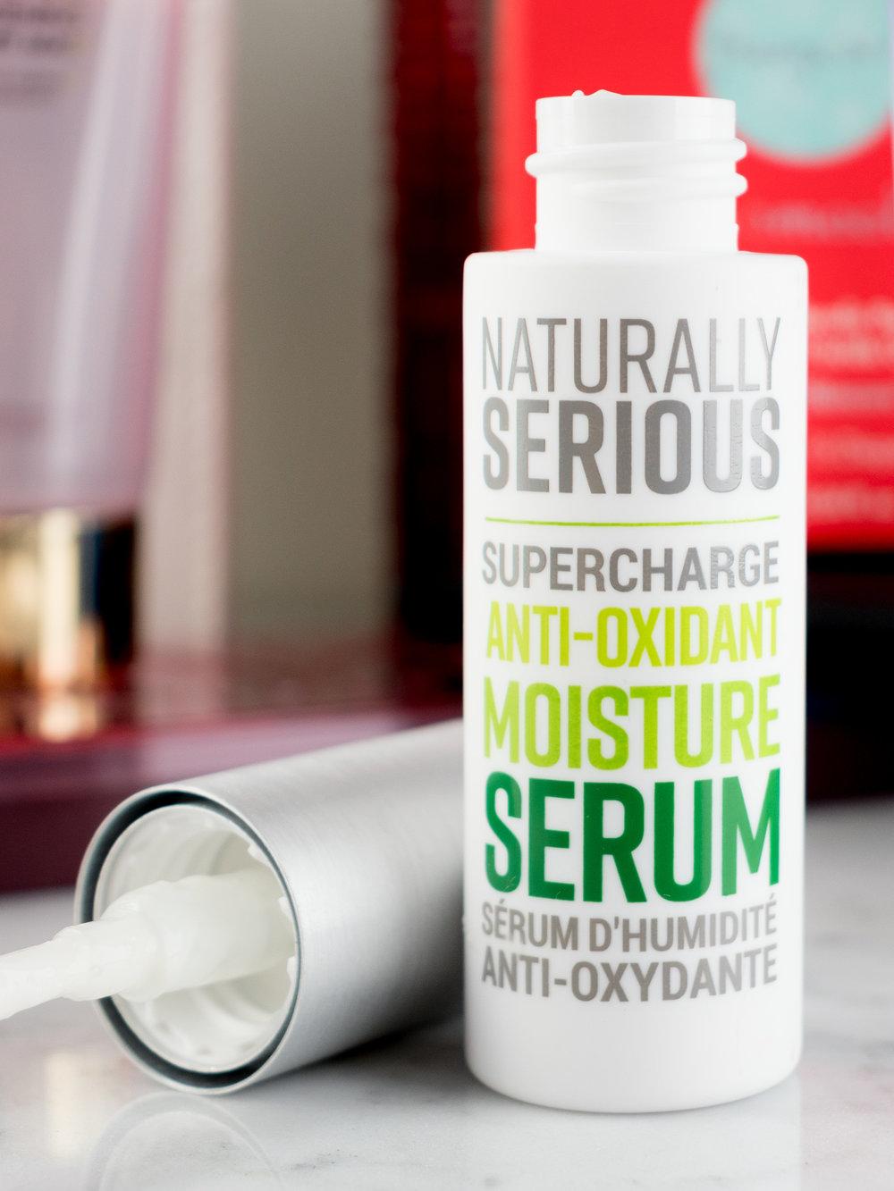 Naturally Serious Supercharge Anti-Oxidant Moisture Serum ,