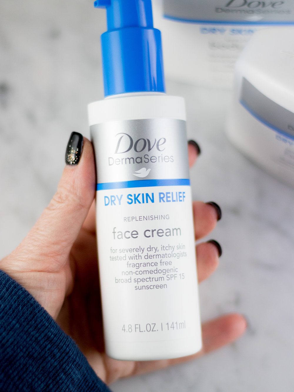 Dove DermaSeries Replenishing Face Cream