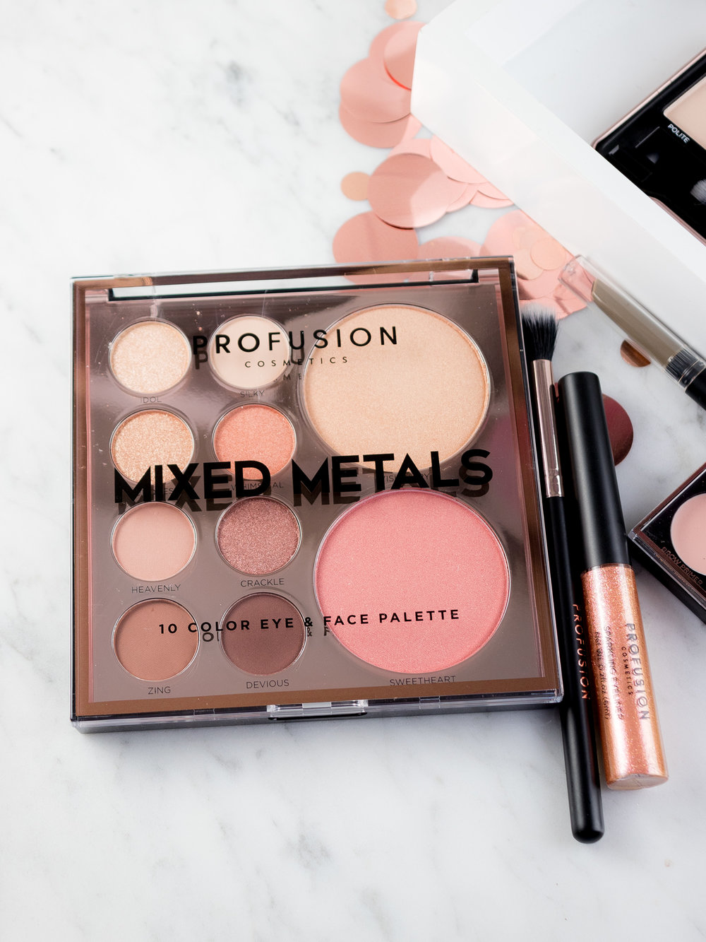 Profusion Cosmetics Holiday Collection 2018