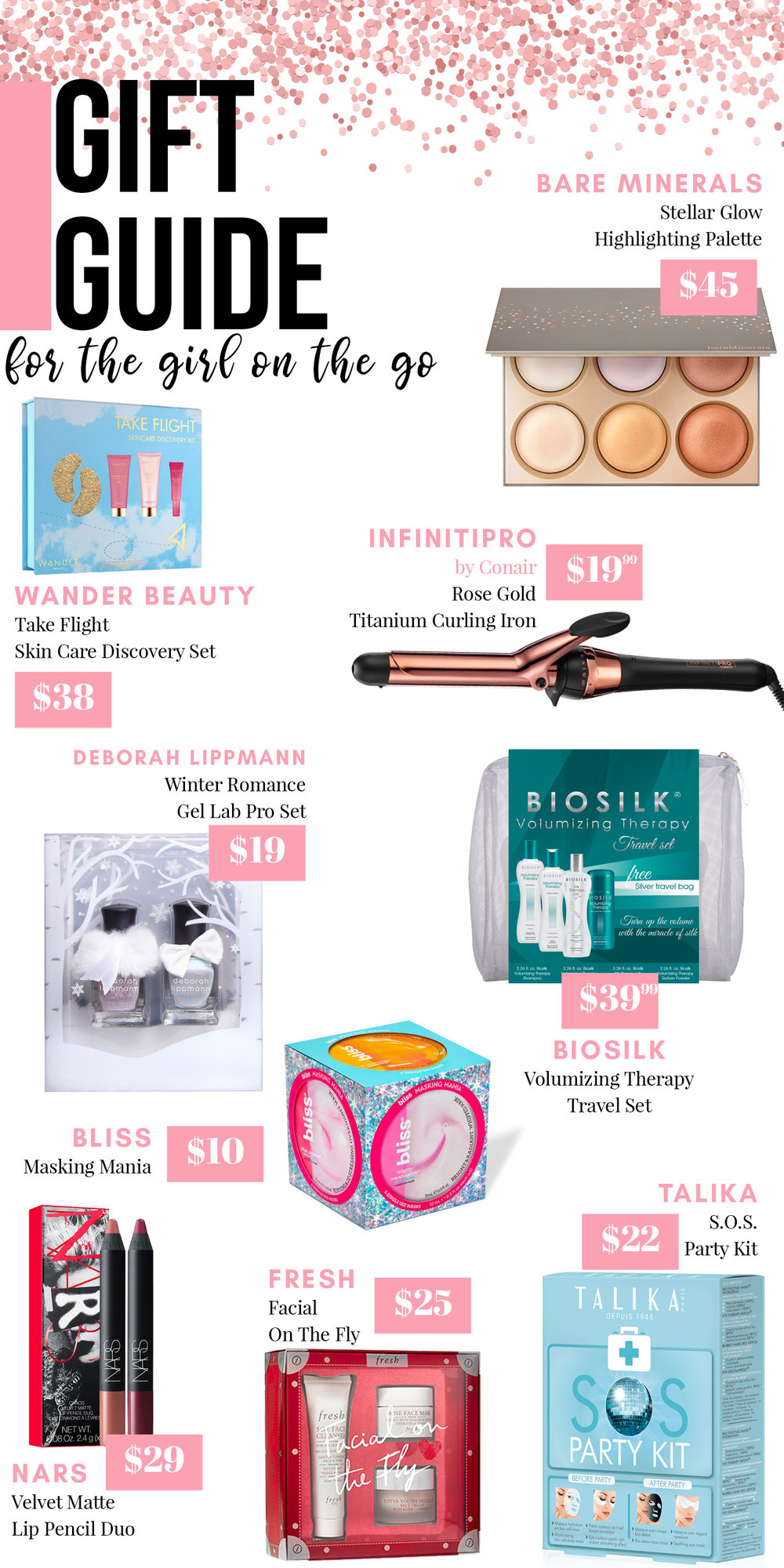 Holiday Gift Guide: Gifts for the Girl on the Go