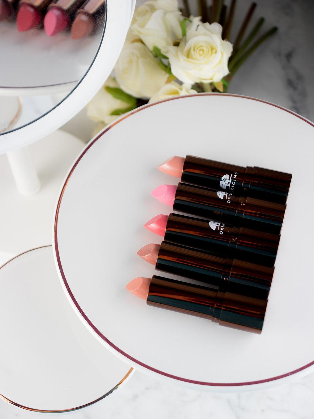 NEW: Origins Blooming Lips Lipstick Favorites